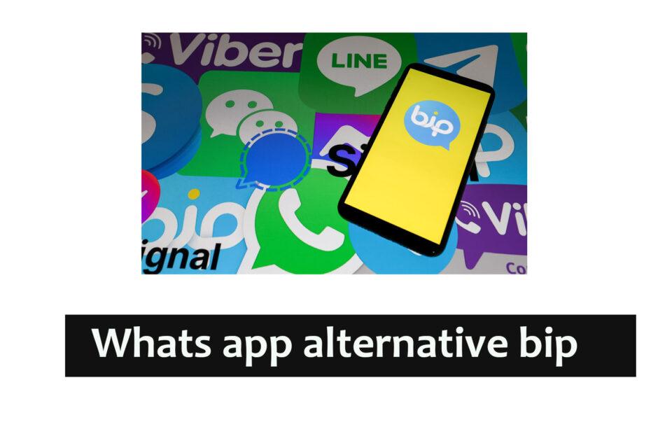 whatsapp alternative bip