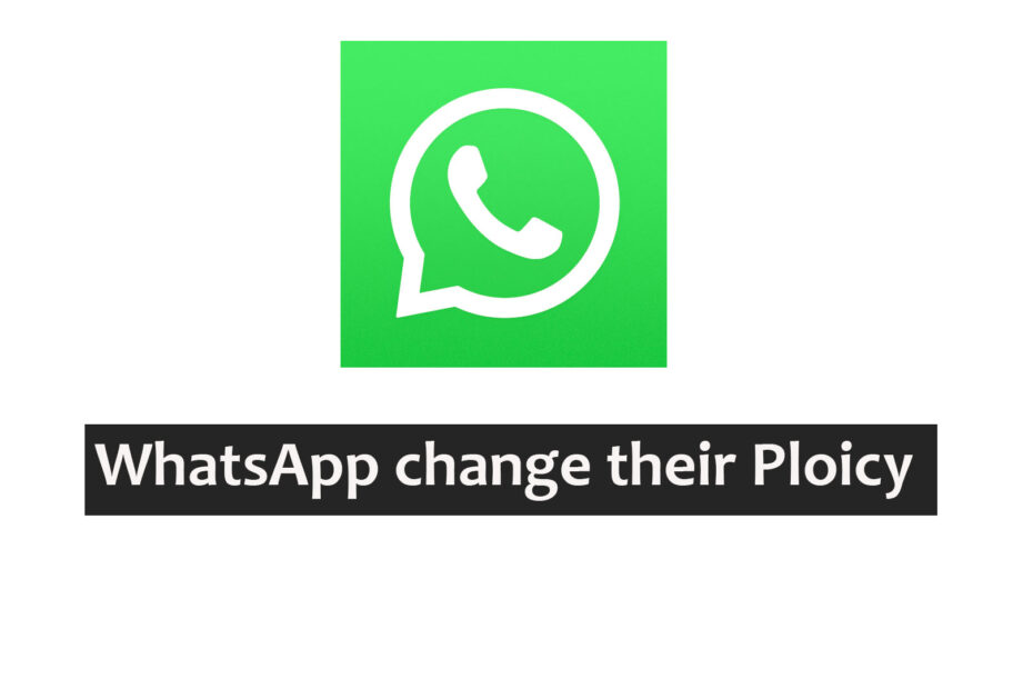 whatsapp change policy